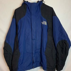 The North Face Blue Black Gortex Jacket Men's